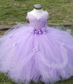 Vestido Princesa Sofia De Tul Deluxe