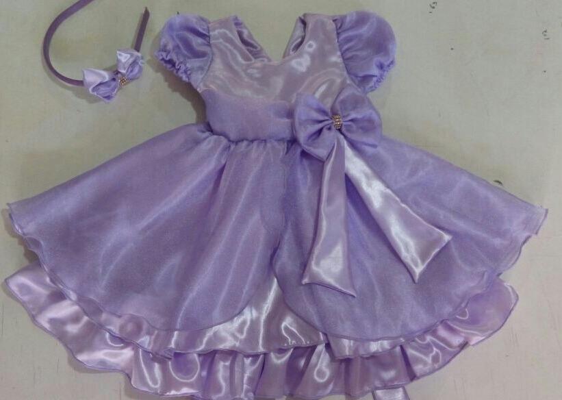 Vestido Princesa Sofia Infantil De Festa Luxo Promoção