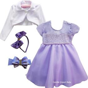 4687bbcc68 Vestido Princesa Sofia 5 Anos no Mercado Livre Brasil