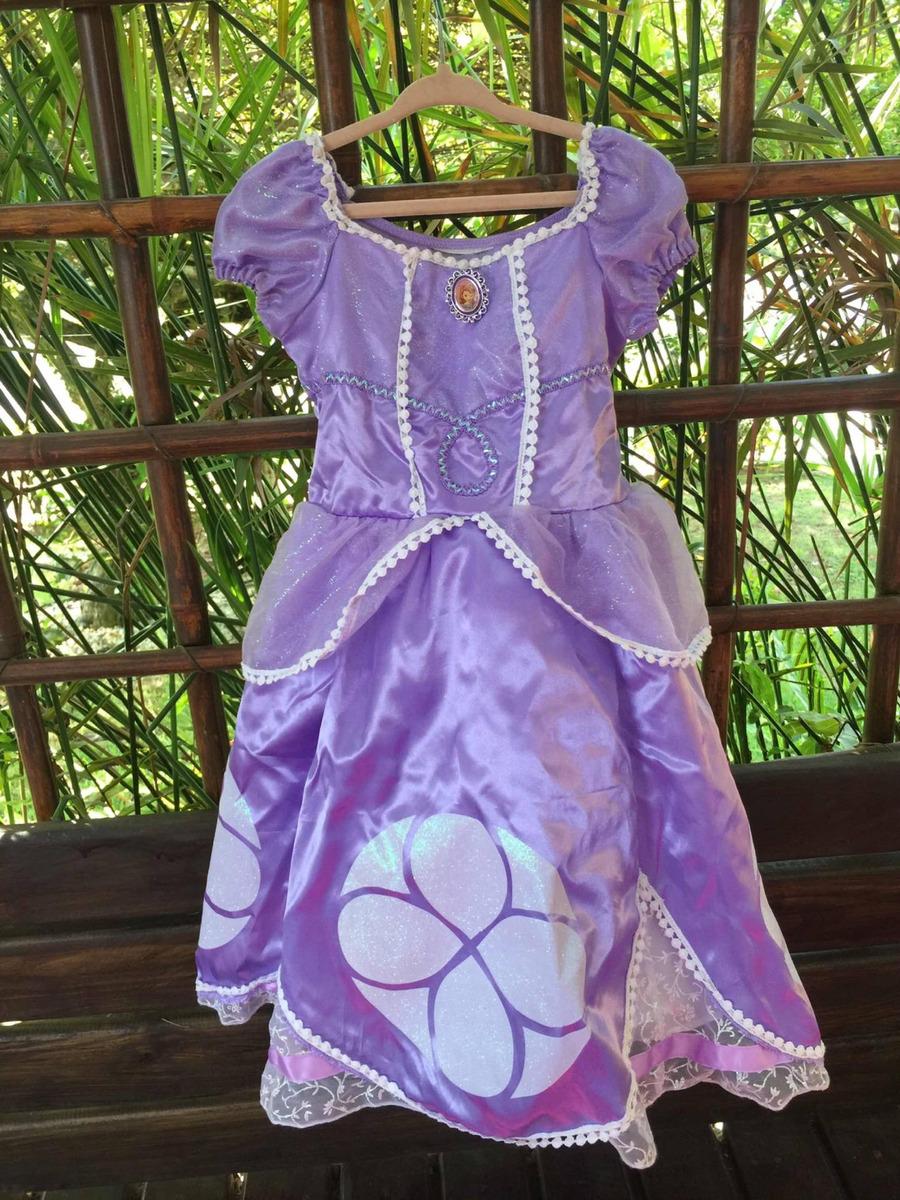 Vestido Princesa Sofia Original Disney Store