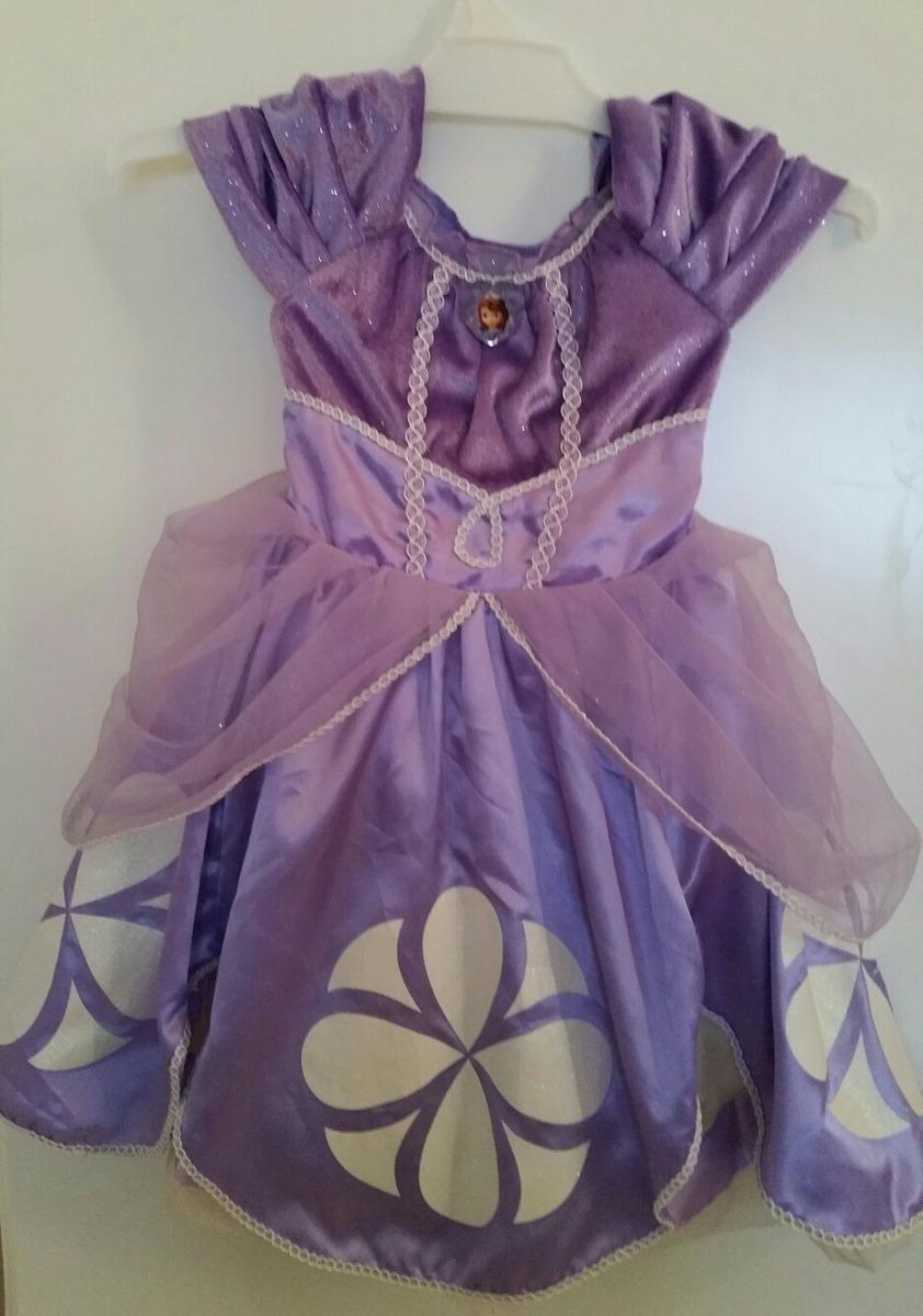 Vestido Princesa Sofia Original Disney Store 100000