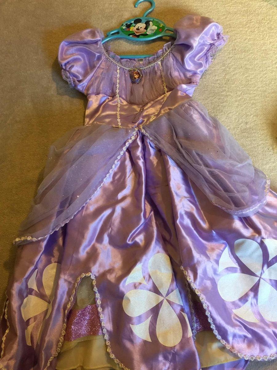 Vestido Princesa Sofía Original Disney Store Importado 200000