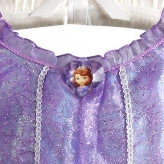 Vestido Princesa Sofia Original Disney Store Pentrega