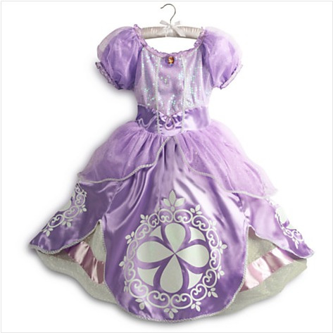 vestido princesa sofía t4 disney