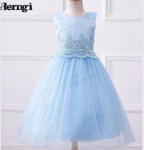 vestido princesas festa batizado casamento daminha azul rosa