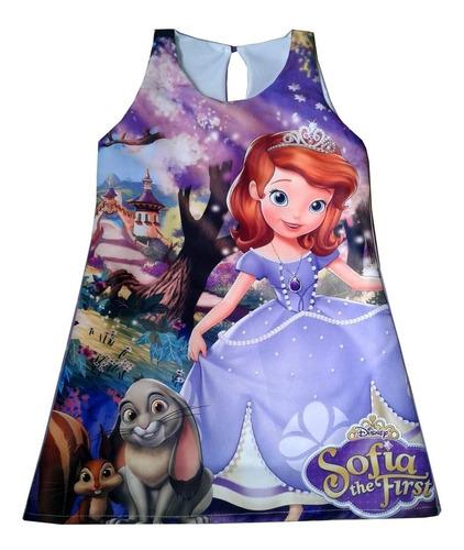 vestido princesita sofia entrega en 15 días