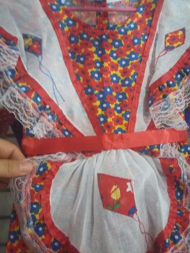 vestido quadrilha