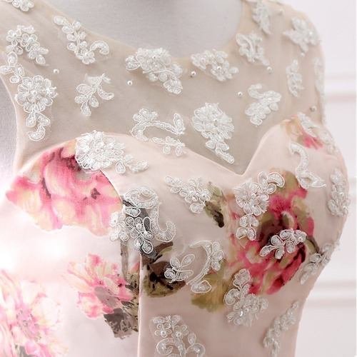 vestido quince años quinceañera barato bonito hermoso flores