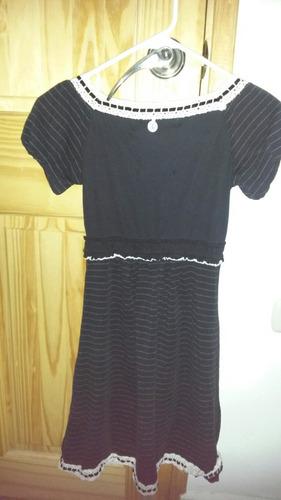 vestido rallas superdry talla m