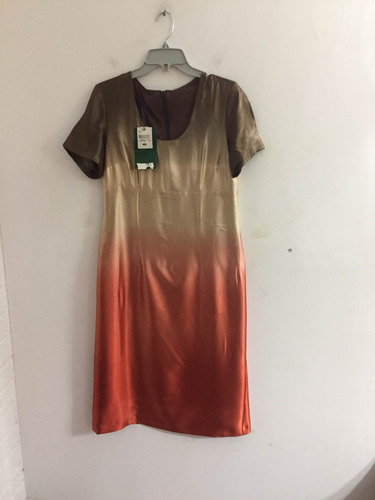 vestido raso marca carven talla 42