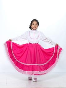 a3a2c544e Vestido Regional Chihuahua Típico Niña Disfraz