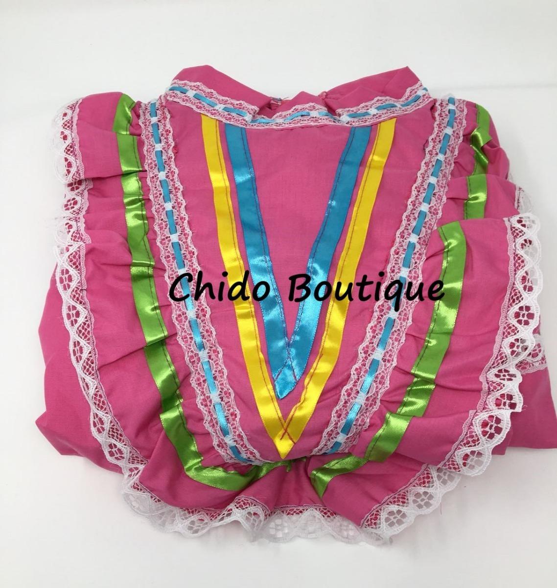 5c306dfcbf09b Vestido Regional De Jalisco Para Niña. Tallas 2 A 12 -   450.00 en ...
