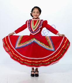 Vestido Regional Jalisco Talla 14 16