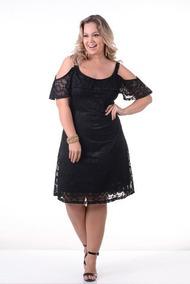 70095317a Vestido Renda Gordinha Curto - Vestidos Femininas no Mercado Livre Brasil
