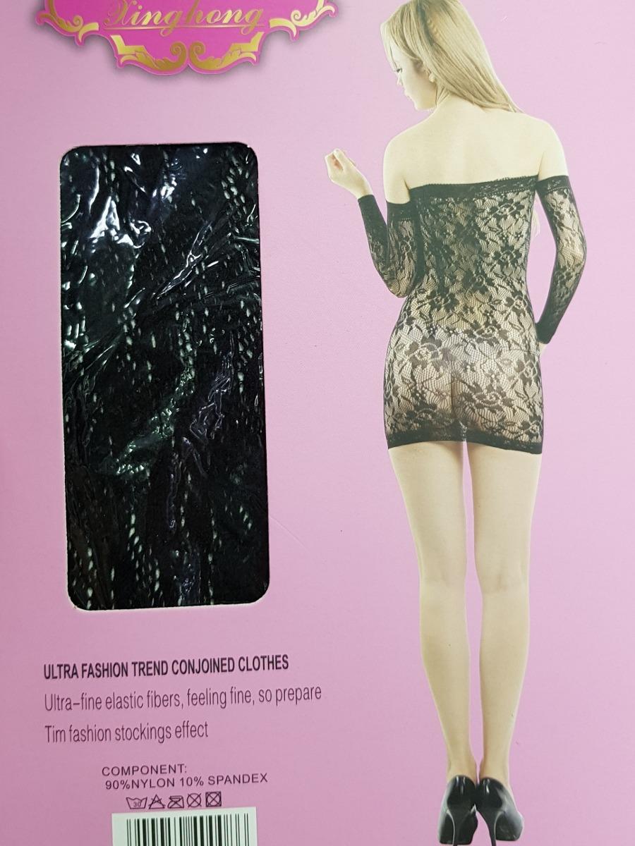 7fa0ff696 Vestido Renda Sensual Justo Preto P M G Gg Até 46 Sexy Moda - R  49 ...