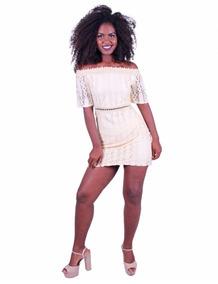 c0c199a381 Vestido Renda Maria Valentin Promoção - Calçados