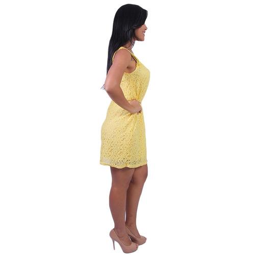 65321f7f12 Vestido Rendado Valentina - Asya Fashion - R  29