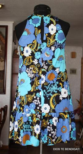 vestido retro vintage unico txs/s