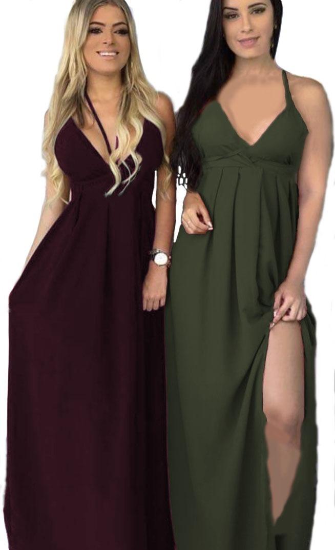 474a450993 vestido reveillon longo bojo alças amarrar forro rodado sol. Carregando zoom .