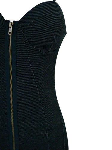 vestido risca de giz com bojo - justinho - lindo!!!