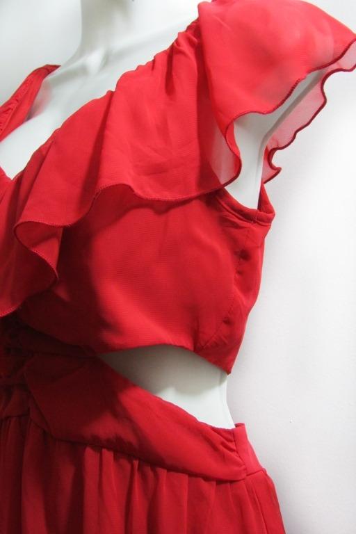 Vestido Rojo Americano Talla Chica