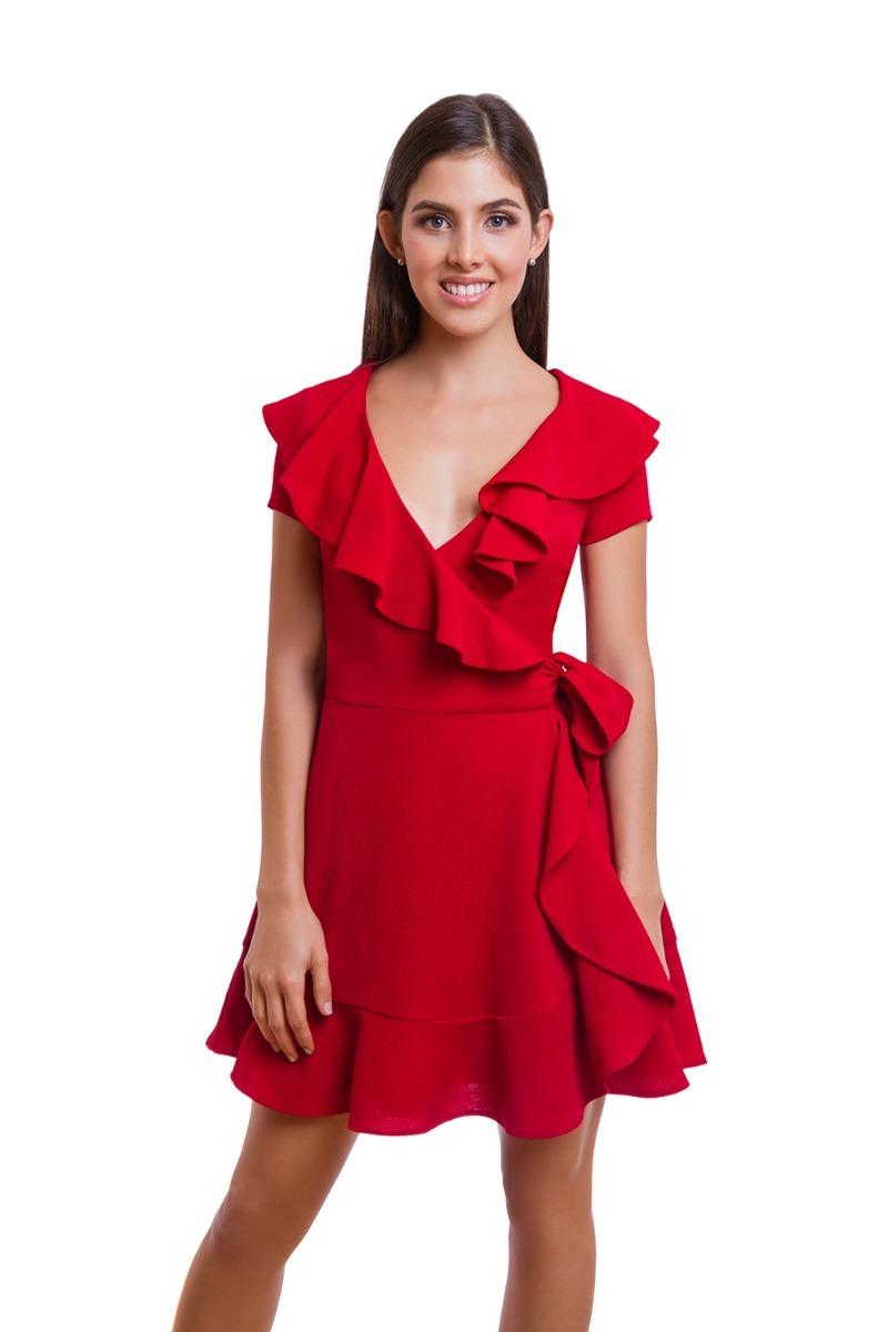 Vestidos Rojos Casuales Cortos Spa On The Go