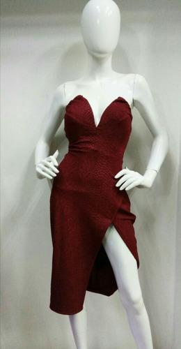 vestido rojo de dama