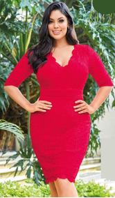 Vestidos De Class Primavera Vestidos De Mujer Corto Rojo