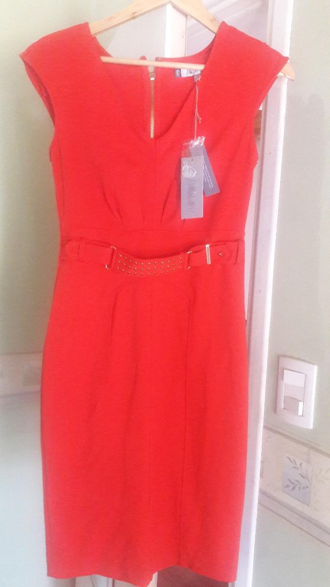 04976e454 Vestido Rojo De Fiesta Al Cuerpo Marca Jennifer Lopez Oferta ...