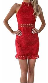 9369e6f869b9 Vestidos Rojos Dama Cortos - Vestidos de Mujer De cóctel Corto ...