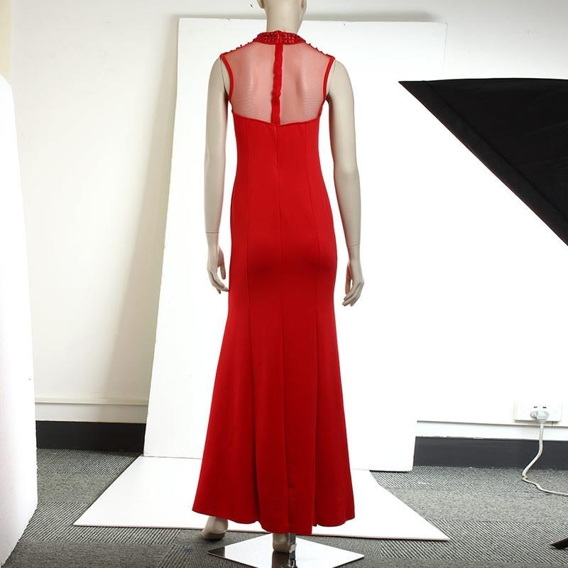 52e54df239b vestido rojo fashion estilo sirena fiesta grados boda cóctel. Cargando zoom.