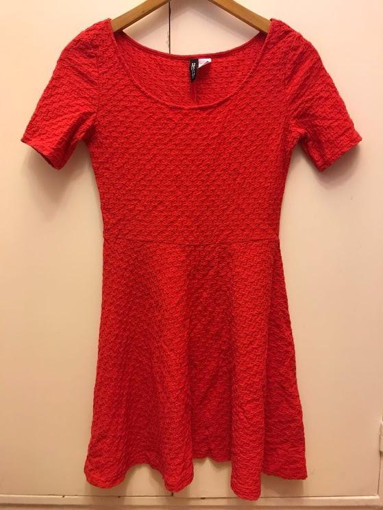 Vestido rojo de h&m