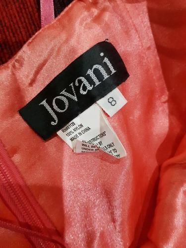 vestido rojo jovani