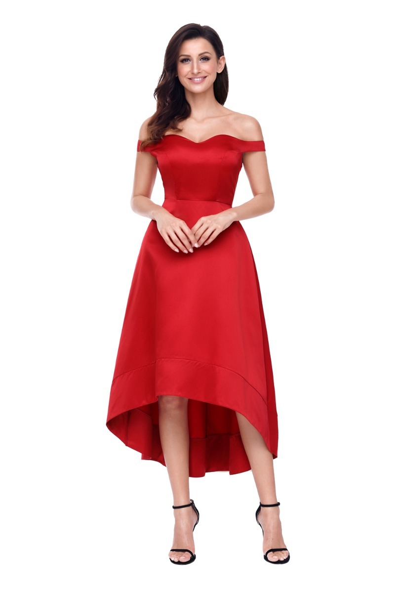 Vestidos rojo largos elegantes
