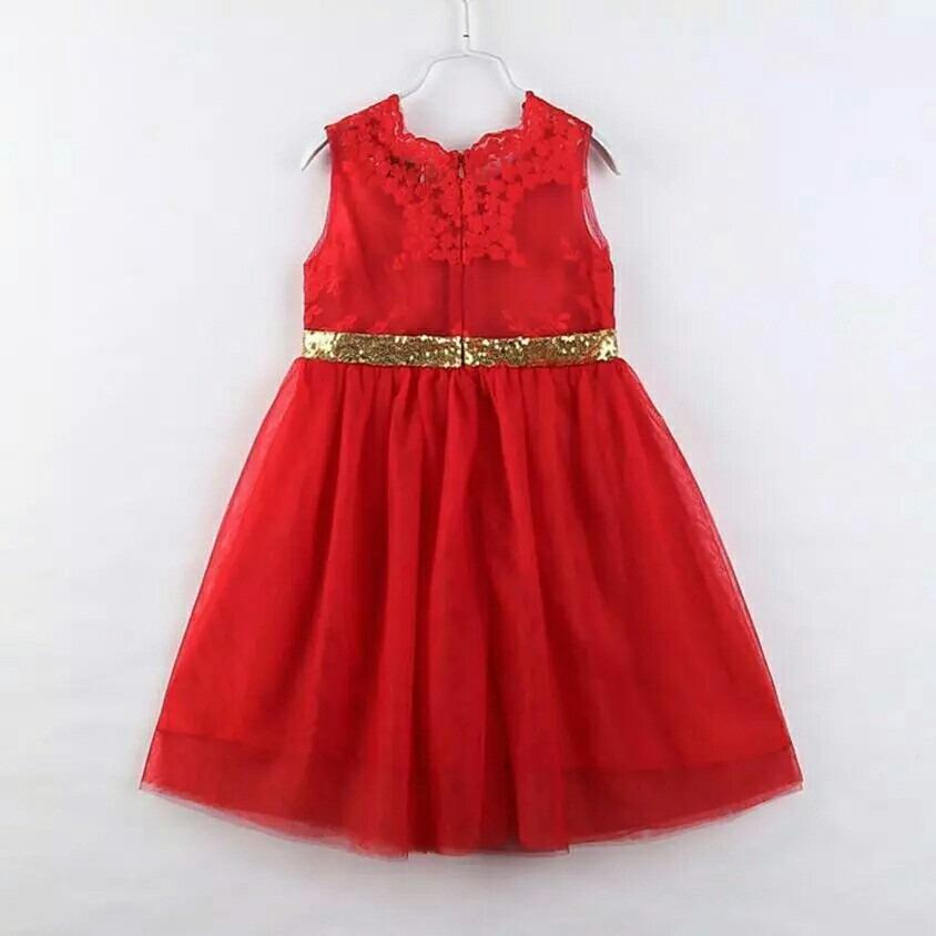 Vestidos rojos largos para ninas