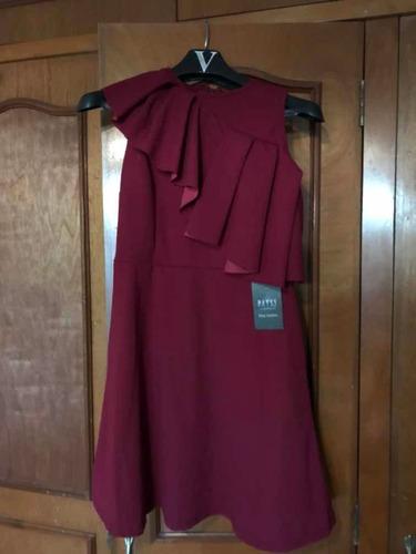 vestido rojo patsy nuevo