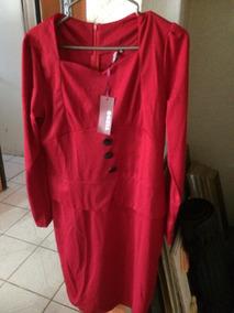 Vestidos Color Rojo Quemado Vestidos En Mercado Libre México