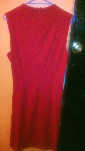 vestido rojo seminuevo