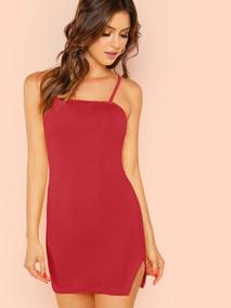 Vestido Rojo Sexy Vestidos Casuales Cortos Vestidos Sexys