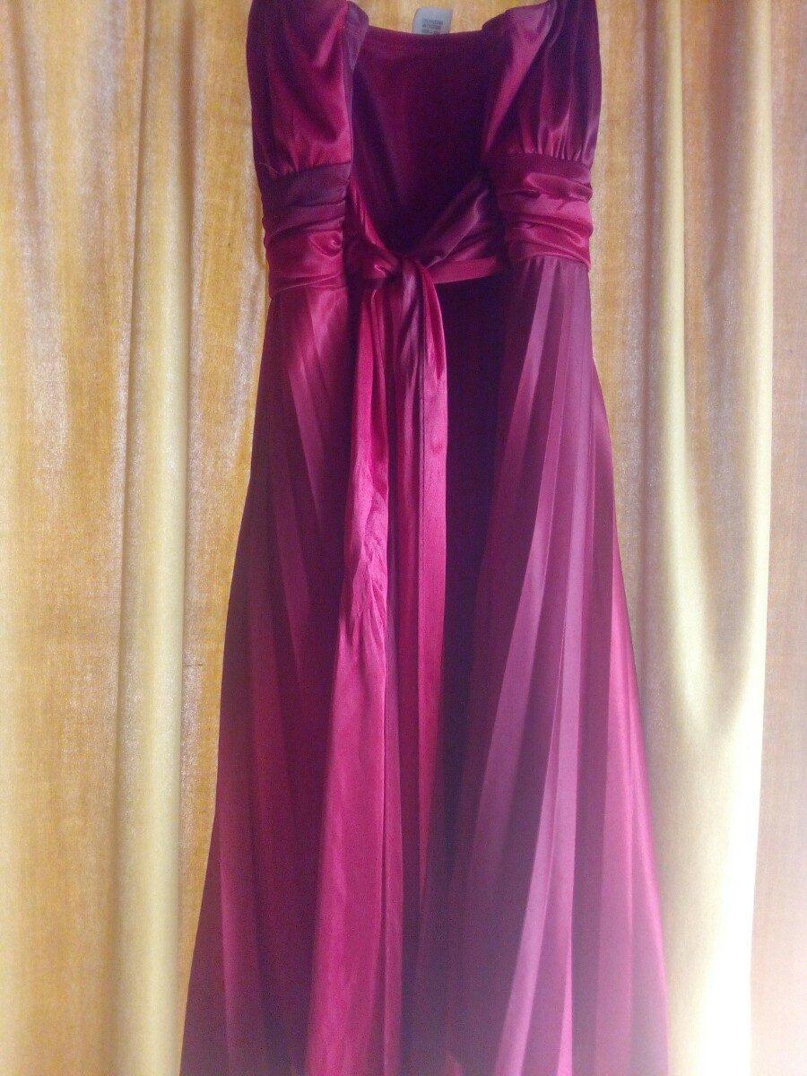 Vestido Rojo Vino Tinto Tipo Cóctel Exotik - Bs. 18.000.000,00 en ...
