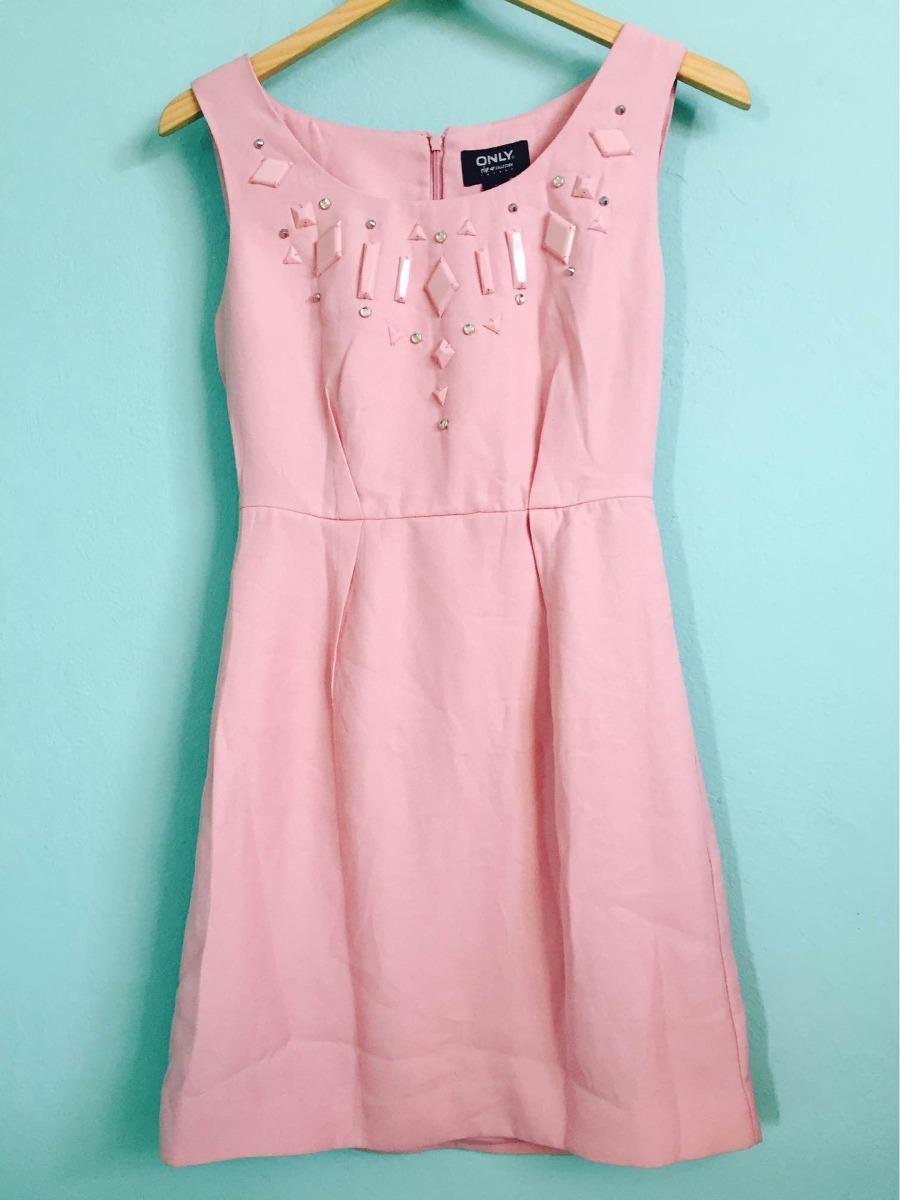 6bee78941 Vestido Rosa Casual Calidad Zara Bershka Stradivarius -   680.00 en ...