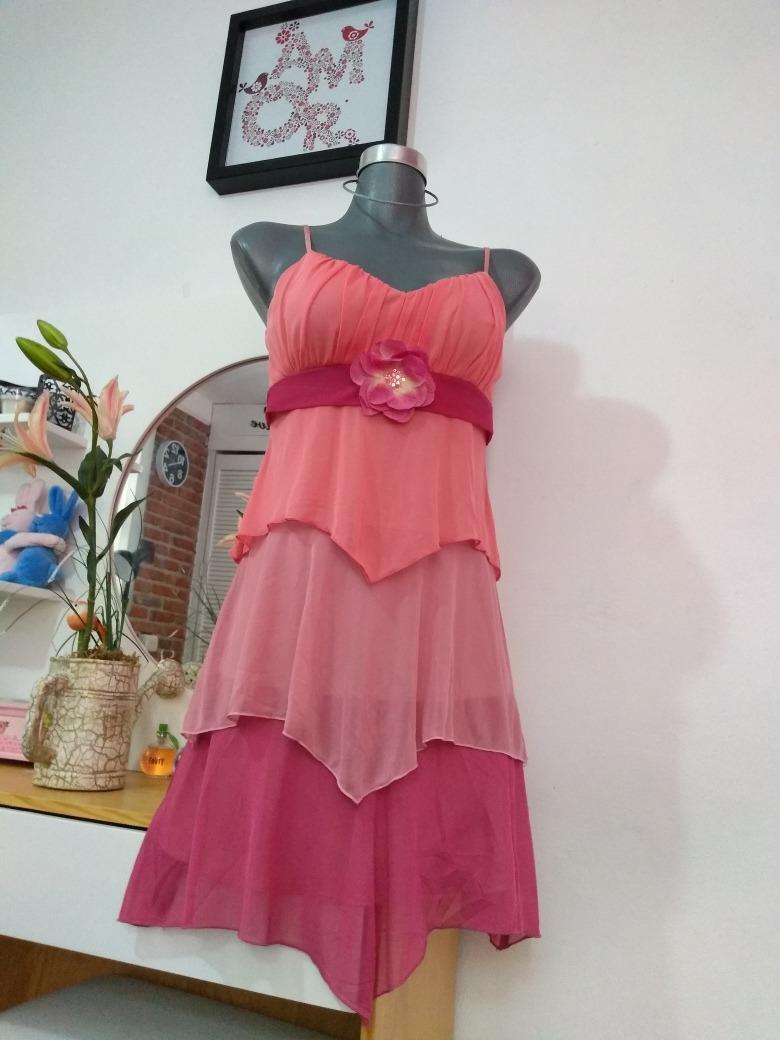 f063364b0 Vestido Rosa Casual Rampage -   100.00 en Mercado Libre