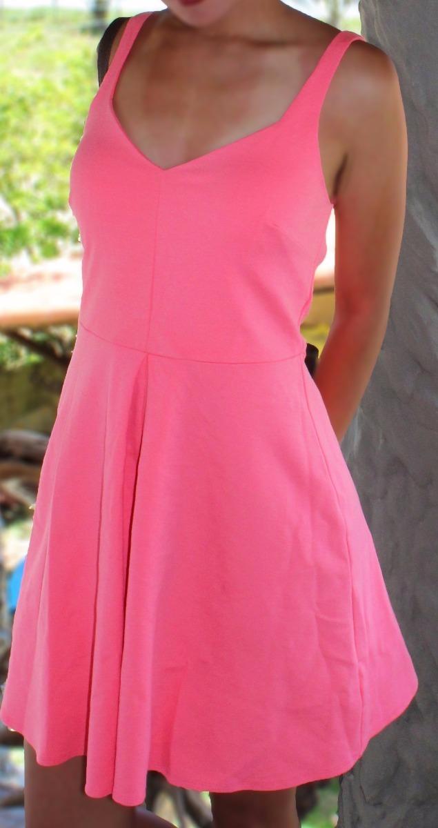 3ee4329e7 vestido rosa chicle casual. Cargando zoom.