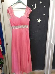 Vestido De Gala Rosa Cicci Ropa Ninos Vestidos Mercado