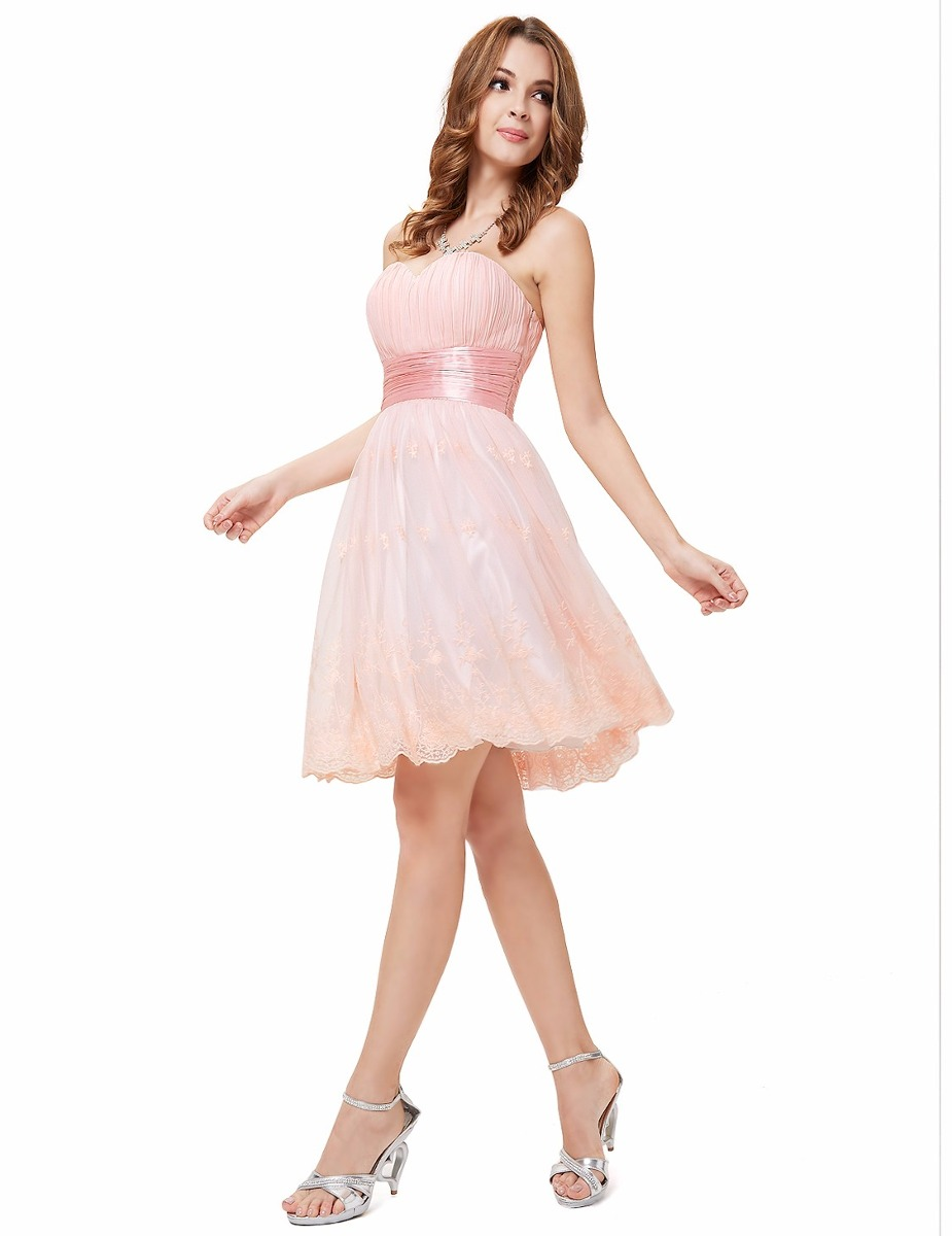 Bolsa De Festa Para Vestido Rosa : Vestido rosa festa renda tule anos debutante noiva