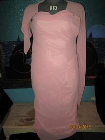 4652eb9b9 ... Para Fiesta Baile Color Rosa Marca Meilun · Vestido Rosa Largo De Gala  Talla Xl   1x Plus American