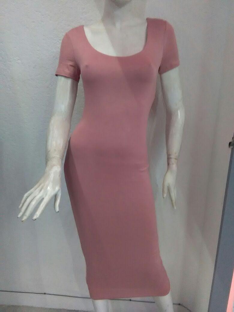 35ae5059b Vestido Rosa Palo -   599.00 en Mercado Libre