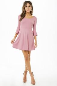 Vestido Daisy Fuentes Original Cortos Vestidos Rosa En