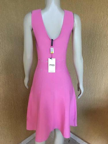vestido rosa velho morina novo promoção tamanho m