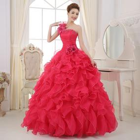 2d81a4e03 Vestido 15 Anos Color Fucsia Ropa Mujer - Vestidos De 15 años para ...